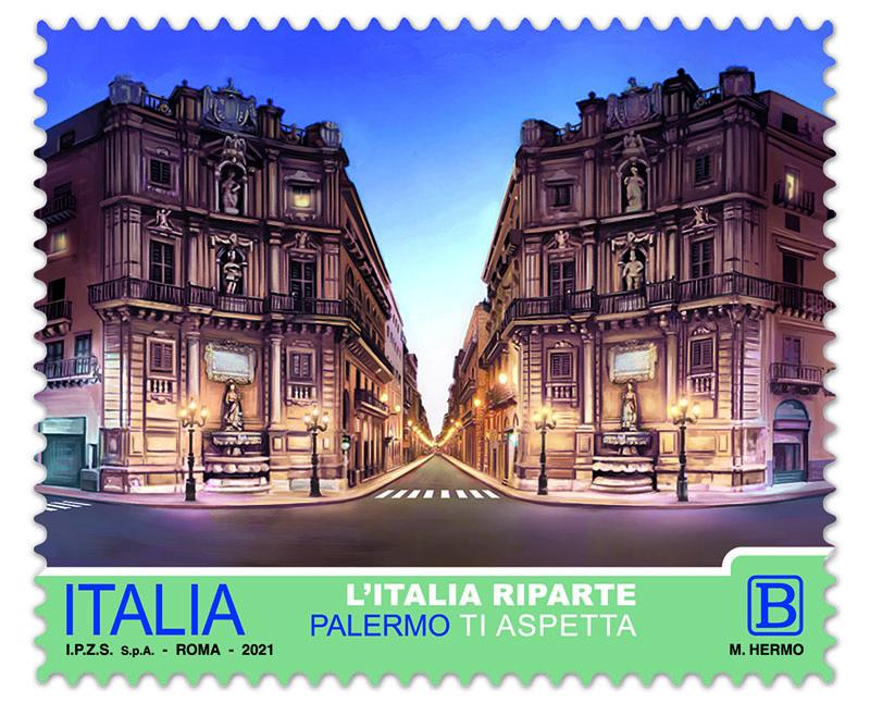 francobollo Palermo