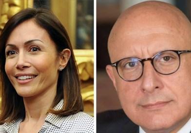Mara Carfagna e Gaetano Armao