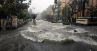 Morti travolti dalle acque piovane nell'area metropolitana di Catania