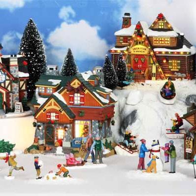 I Villaggi di Natale Lemax unalternativa al classico presepe  Il Germoglio