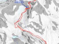 Map 2 - Tratto senza sci
