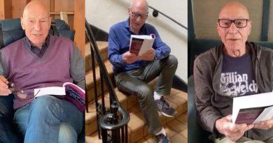Patrick Stewart legge Shakespeare