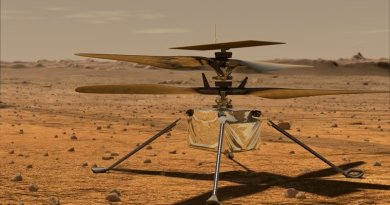 L'elicottero marziano Ingenuity