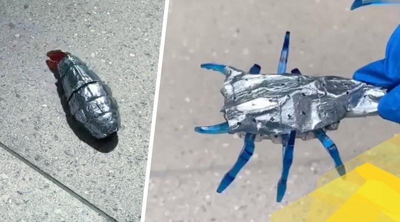 Robot alimentati con le nuove batterie-corazza