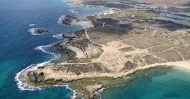 Tel Dor, sulla costa mediterranea israeliana