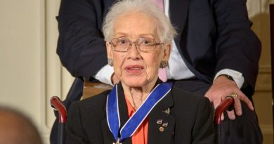 Katherine Johnson 2015