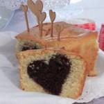 plumcake cuore cioccolato