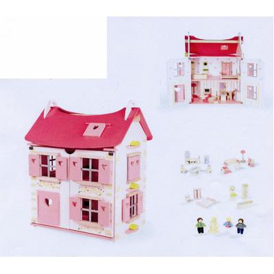 Casa delle bambole in legno Janod  Giochi  Giocattoli