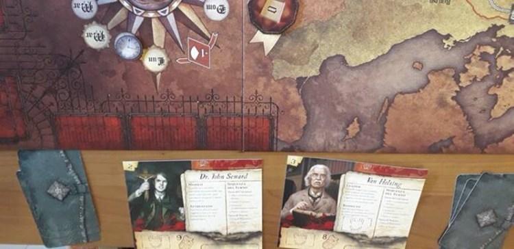 1 - Il Conte Dracula è ancora vivo: il gioco da tavolo La furia di Dracula. 7