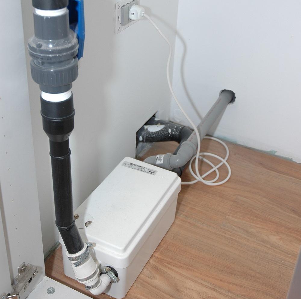 sanishower particolarmente indicata per lo scarico delle docce