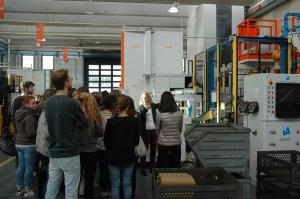 LA VISITA. Lo scorso 14 novembre, gli studenti del Lunardi e del Capirola (BS) sono stati guidati attraverso un percorso di presentazione della realtà aziendale IVAR.