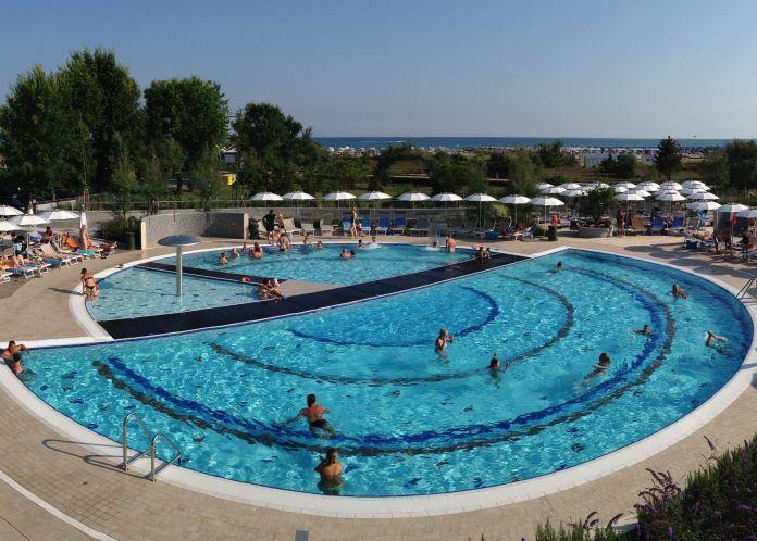piscina Laguna Park Hotel Bibione.
