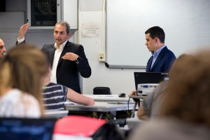 Da sinistra, Elio Migni e Alessio Baldi, rispettivamente Project Business Manager e Addetto Centro Servizi di Viega Italia.