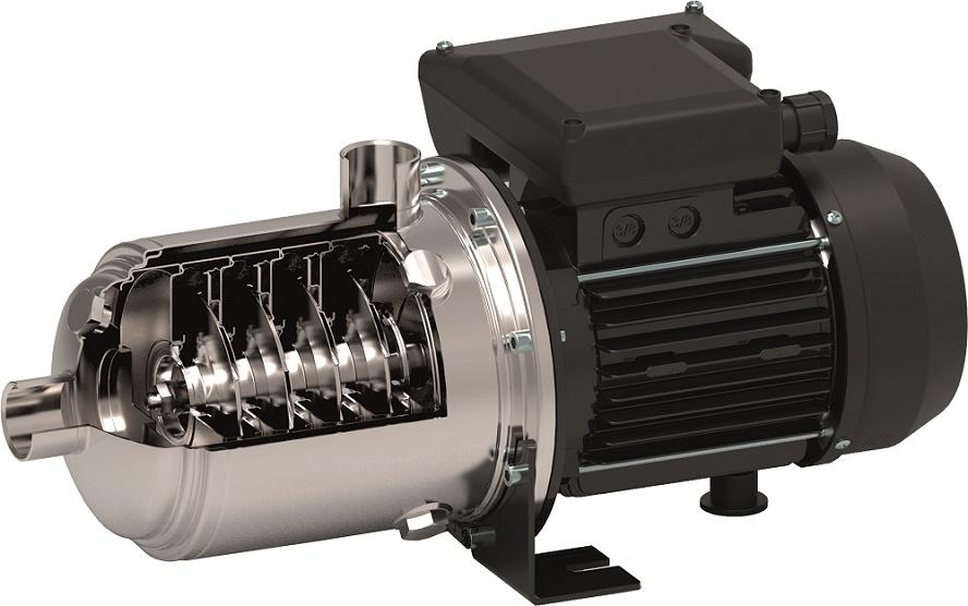 Elettropompe centrifughe orizzontali multistadio autoadescanti EHsp