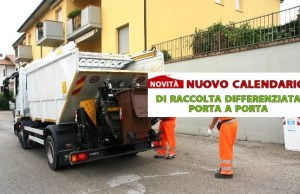 Nuovo calendario raccolta rifiuti