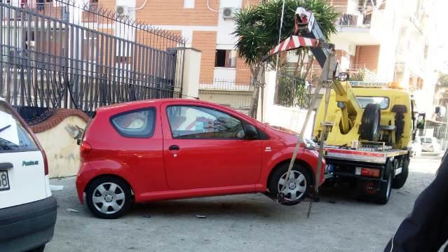 rimozione auto a Casoria