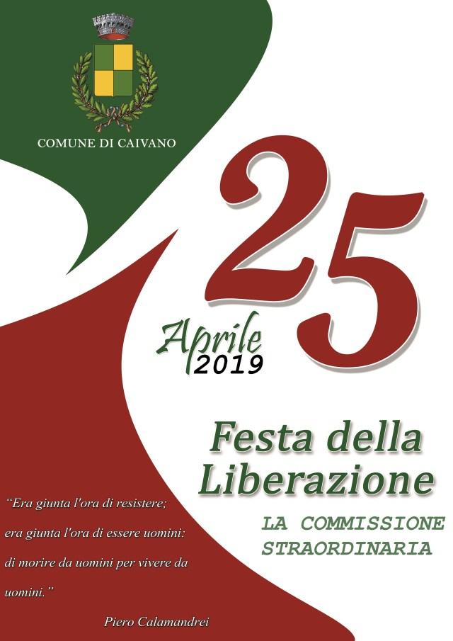 Celebrazione del 25 aprile presso piazza Cesare Battisti