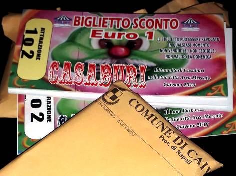 biglietti giostre Campiglione