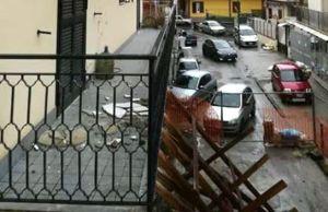 palazzo pericolante di via Caputo