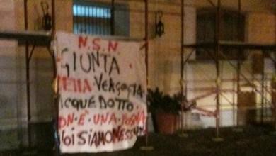 """Photo of Acquedotto: la protesta di noi """"siamo nessuno"""""""