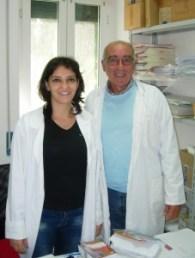 Il dott. Alessandro Iacono con la dott.ssa Cannovo (foto secondaria in basso a sinistra)