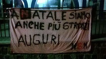 """Photo of Striscioni a Forio contro il """"palazzo"""""""