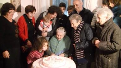 Photo of La festa per i 108 anni di nonna Gemma