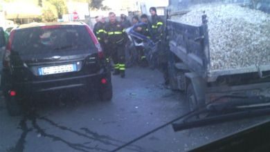 Photo of Camion contro furgone, brutto incidente a Panza