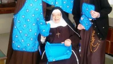 Photo of Suor Rosa Lupoli prega con il Napoli nel cuore