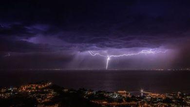 Photo of Tempesta di lampi su Ischia