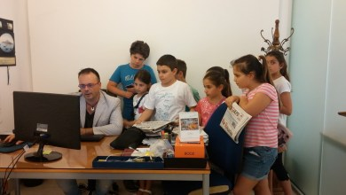 """Photo of Pomeriggio nella redazione de """"Il Golfo"""" per gli aspiranti giornalisti del Marconi"""