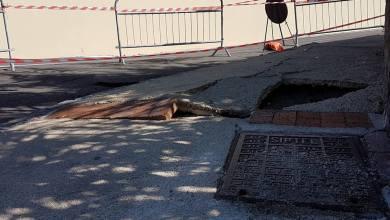 Photo of Via Giovanni Mazzella a pezzi, che scempio a Forio