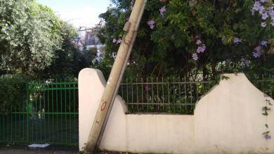Photo of Palo a rischio crollo, interdetta via Gemito ad Ischia
