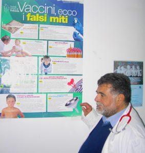 Il dott. Giuseppe Parisi, primario di Pediatria all'Ospedale Rizzoli (foto quarta)