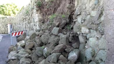 Photo of Maltempo, crolla un muro a secco in località Piellero