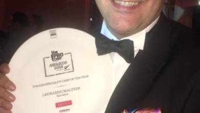 Photo of L'ischiano Leonardo Maltese è il miglior chef italiano a Dubai