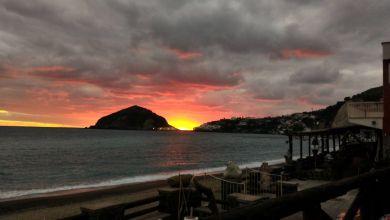Photo of Maronti, che magia al tramonto!