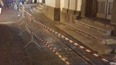 Photo of Paura a Forio, cede il cornicione della basilica