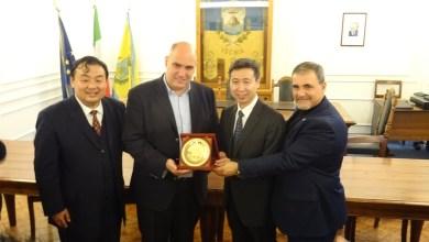 Photo of L'incontro in Municipio con la delegazione  del Governo Centrale di Pechino