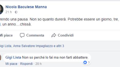 """Photo of Elezioni, il """"Baculese"""" getta la spugna?"""