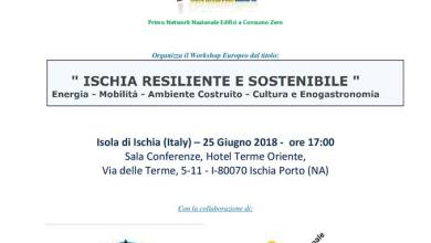 "Photo of ""Ischia resiliente e sostenibile"", arriva il workshop"