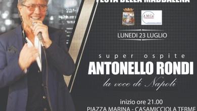 Photo of Casamicciola, Festa della Maddalena con il concerto di Antonello Rondi