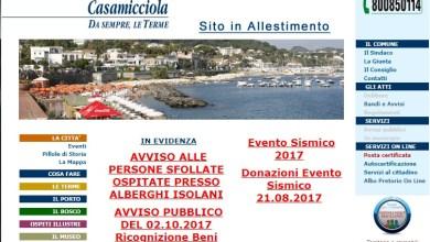 Photo of I Comuni e i siti web: Ischia, Casamicciola e Lacco Ameno poco trasparenti o fuorilegge