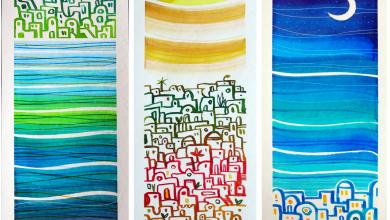 """Photo of Luci, forme e colori dell'isola nella Mostra """"Inchiostri"""" di Manuel Di Chiara"""