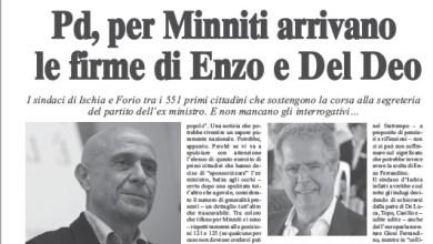 "Photo of Enzo e Francesco, carezze per Minniti ma ""mazzate"" al Pd"