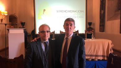 Photo of Termalismo, Ascione premiato in Spagna: «Un riconoscimento che mi riempie d'orgoglio»