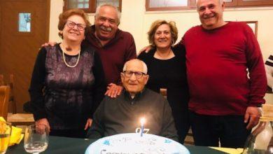 Photo of LA FESTA 97 anni e non sentirli, tanti auguri Nonno Arturo