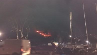 Photo of Fiamme allo Spalatriello, sul posto i vigili del fuoco