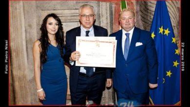 Photo of Leone d'Oro di Venezia per l'avvocato Matarese