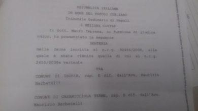Photo of Mazzata da seicentomila euro per i Comuni di Ischia e Casamicciola